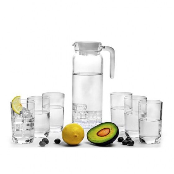 Royalford RF7945 Glass Cool Water Set, 7pieces