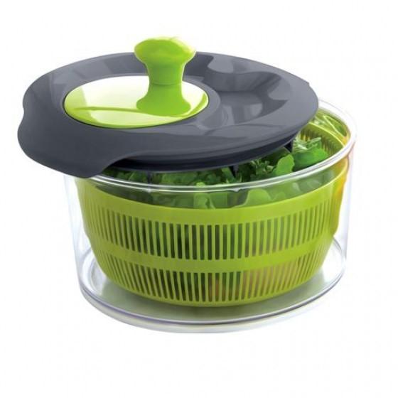 Royalford RF8742 Jumbo Salad Spinner | Healthy Eating Salad Spinner & Dresser for Lettuce Herbs Vegetables Fruits