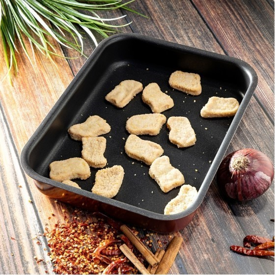 Royalford RF1148-SP37 Non-Stick Square Baking Tray, 2L