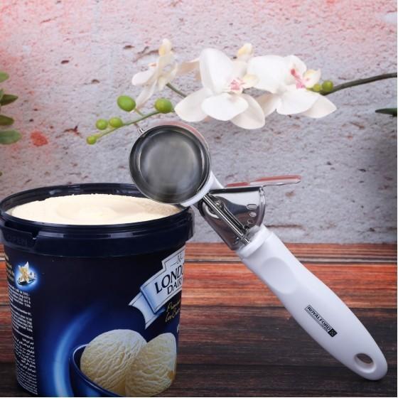 Royalford RF1670-ICS Stainless Steel Ice Cream Scoop