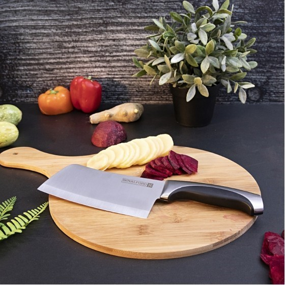 Royalford RF1800-CLK Cleaver Knife, 6 Inch