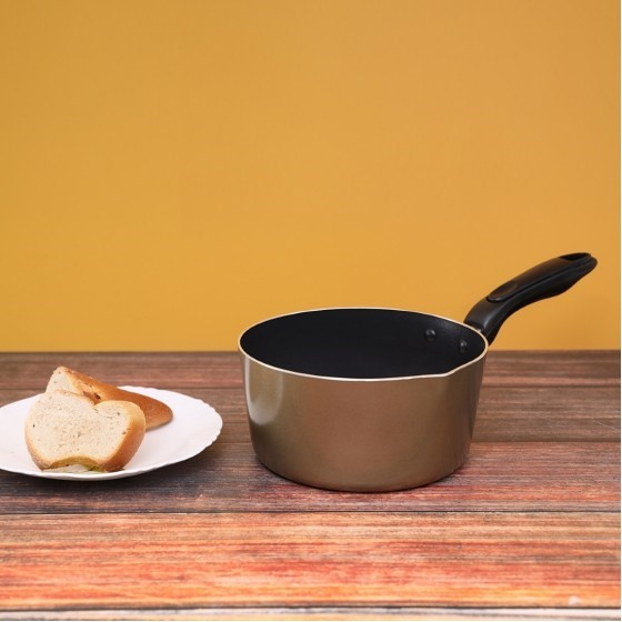 Royalford RF2012-MP18 Non-Stick Milk Pan, 18 CM