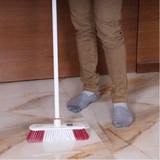 Royalford RF2369-FB Floor Broom with Metal Handle, 120 CM