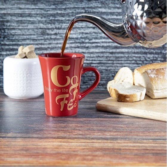 Royalford RF2964 Porcelain Coffee Mug, 11 Oz