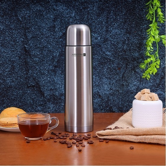 Royalford RF4946 Stainless Steel Vacuum Bottle, 350 ML