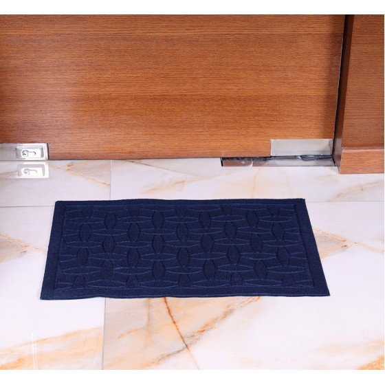Royalford RF4953 Rubber Mat - Home, Shop Outdoor Rubber Entrance Mats Anti Fatigue None Slip Indoor Safety Flooring Drainage Door Mat | Ideal for Garage, Terrace, Laundry Room, Entryway & More