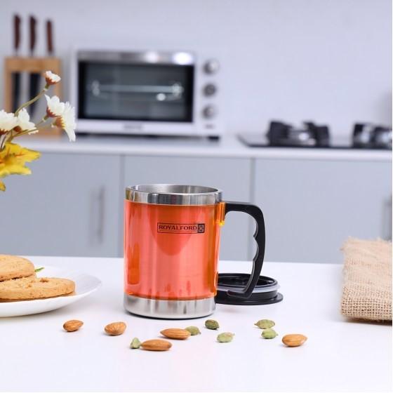 Royalford RF5131 Travel Mug, 14 Oz