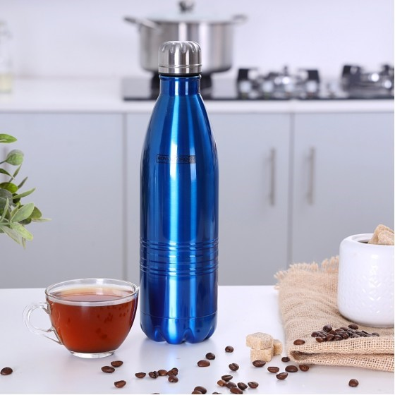 Royalford RF5768 Stainless Steel Vacuum Bottle, 350 ML