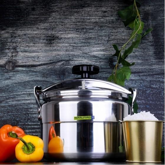 Royalford RF7601 Aluminium Pressure Cooker, 7L