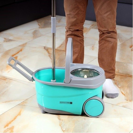 Royalford RF7721 Proactive Mop With 360° Rotating Mop Plate