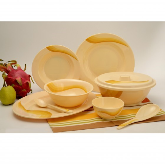 Royalford RF6720 Dinner Set, 40pieces
