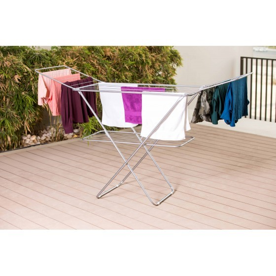Royalford Large Folding Clothes Airer