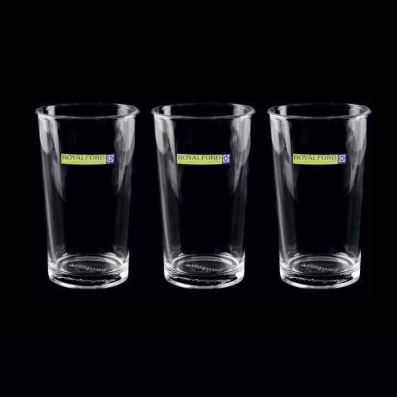 Royalford 3 Pcs Classic Heavy Juice Glass Set