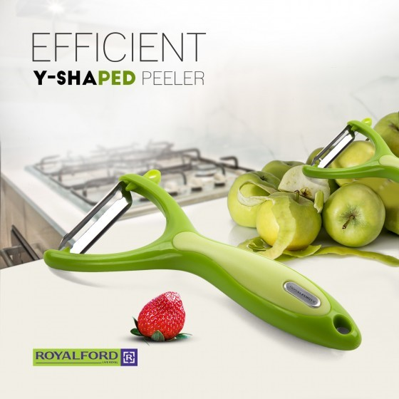 Royalford Y Peeler Plastic Handle