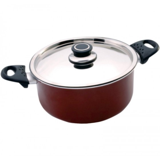 Non-Stick Cookware with Lid, 30 CM