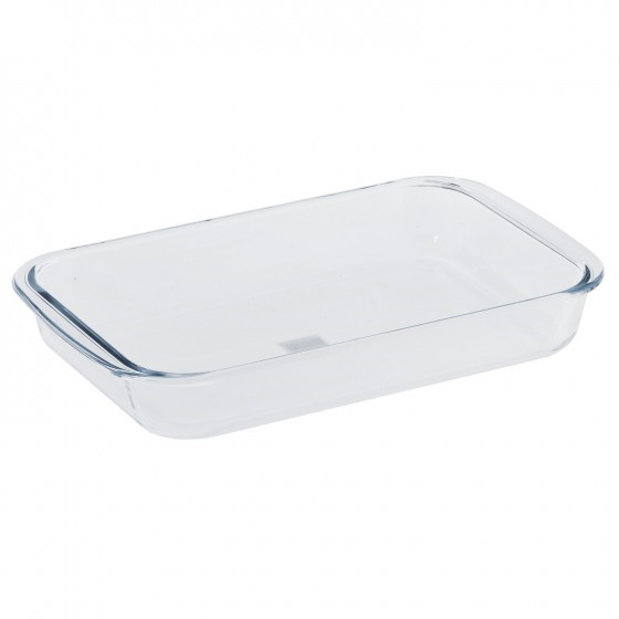Borosilicate Glass Square Roaster, Casserole Baking Dish, Glass Oven Proof Cooking Dish, Oven Safe Bakeware