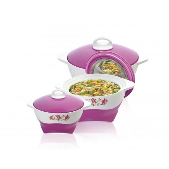 Royalford 3pc Casserole Dish Hot Pot Set