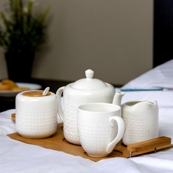 Royalford 6PCS Porcelain Tea Set