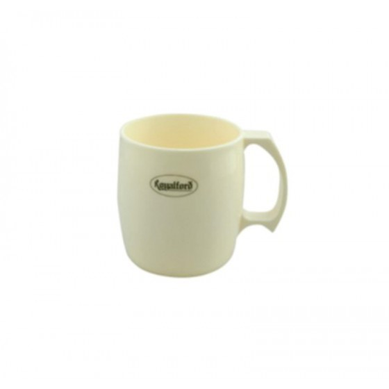Royalford RF5016 Porcelain Cup - Large Coffee & Tea Mug, Traditional Extra Large Tea Mug, Thick Wall Small Portable Mug | Ideal for Hot & Cold Drinks with High Grip Handle (Yellow)