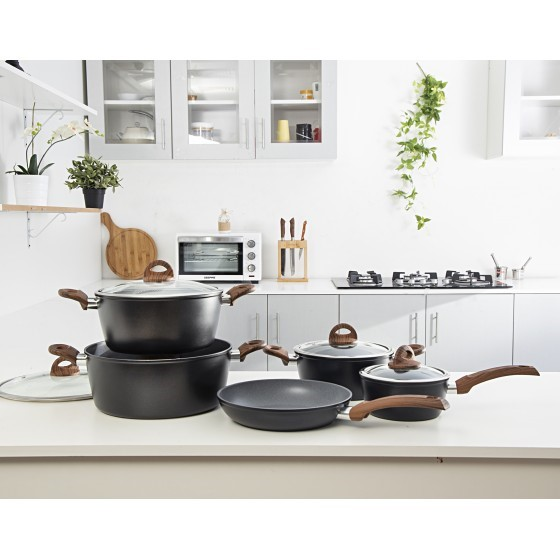 9Pc Delight Cookware Set-MarbleCotd