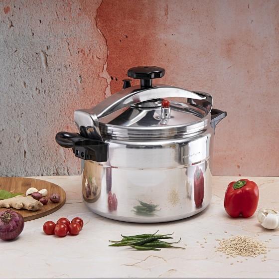 Royalford RF7602 Aluminium Pressure Cooker, 9L