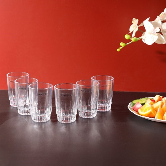 Royalford RF4269 Glass Tumbler Set, 6pieces