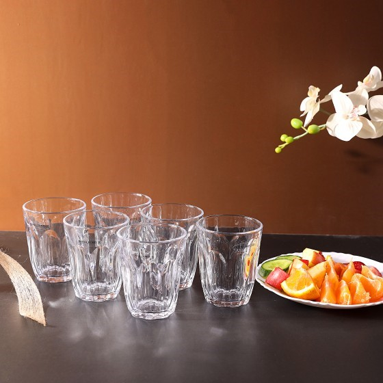 Royalford RF1097-GT6 Glass Tumbler Set, 6pieces
