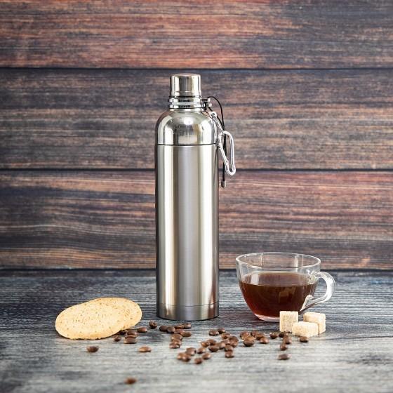 Royalford RF6147 Stainless Steel Vacuum Sports Bottle, 500ml