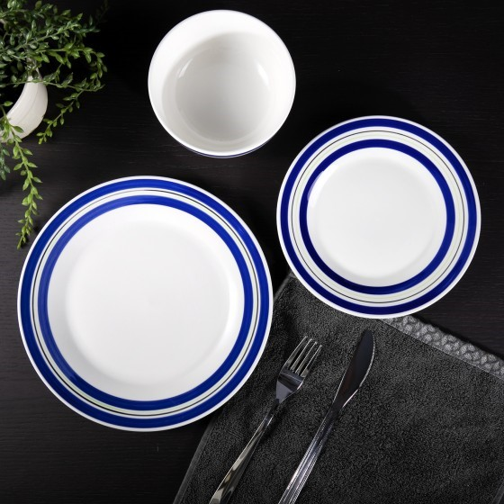 Royalford 12 Pieces Porcelain Dinner Set