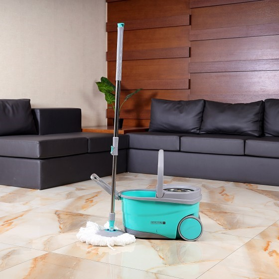 Royalford RF7721 Proactive Mop with 360 Rotating Mop Plate