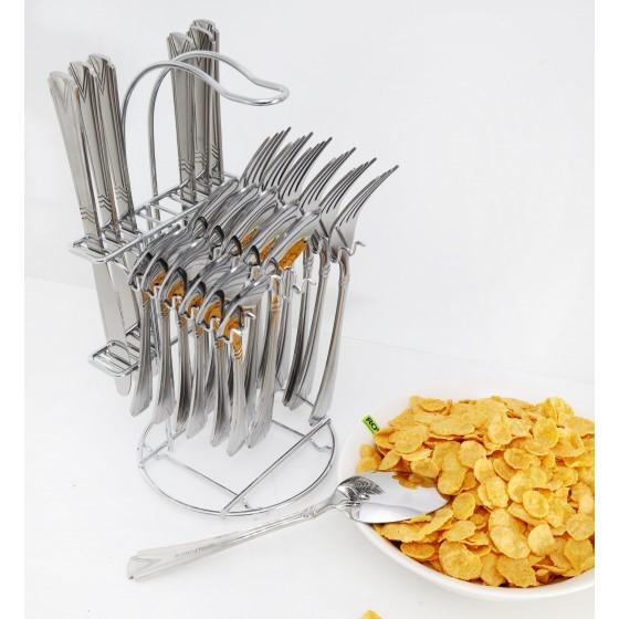RF2088-C24 Stainless Steel Cutlery Set, 24 Pcs