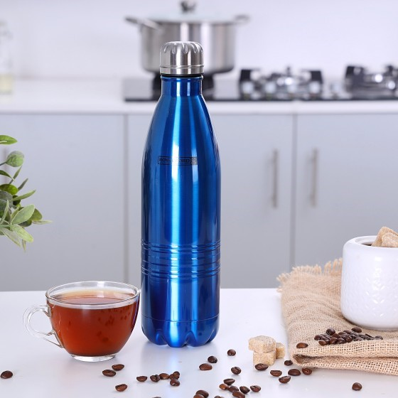 Royalford RF5770 Stainless Steel Vacuum Bottle, 750ml