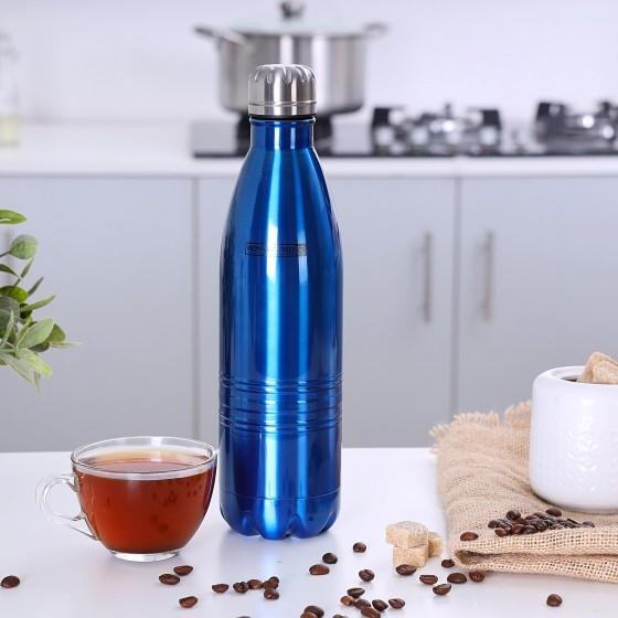 Royalford RF5769 Stainless Steel Vacuum Bottle, 500ml