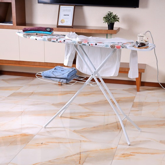 RoyalFord RF1965IB Mesh Ironing Board with Socket,  127 x 46cm