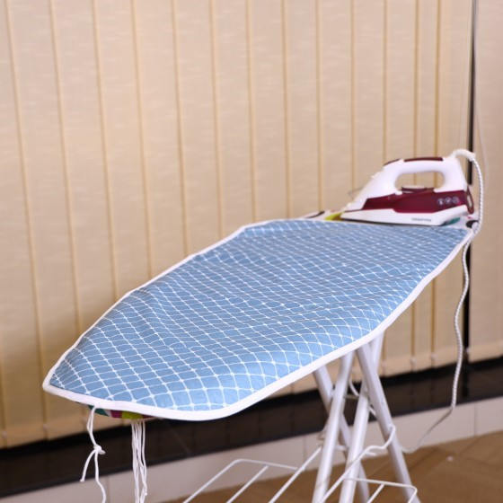 Royalford RF1513-IBC Ironing Board Cover 92 X 31 Cm - Thick Light Weight Scorch & Heat Resistant | Highly Durable Material | Portable Easy-Fit Foldable Covers | Ideal for Iron Board