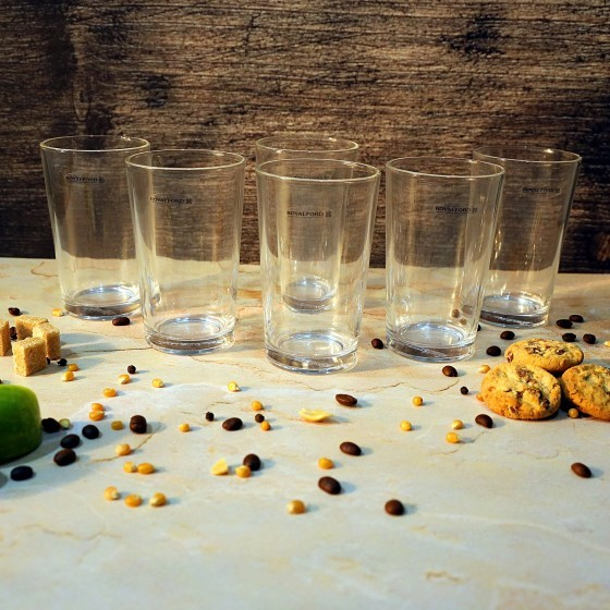 Royalford RF6777 Glass Tumbler Set, 6pieces