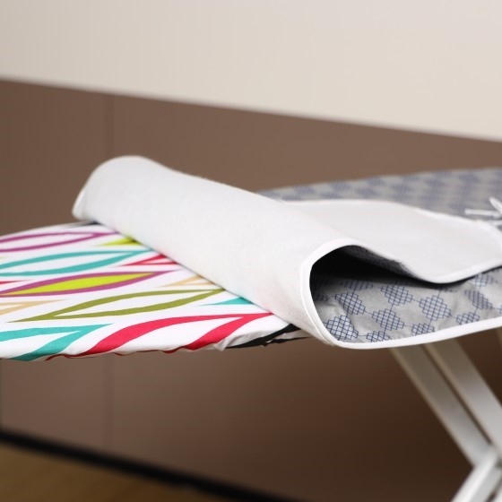 Royalford RF1515-IBC Ironing Board Cover 122 X 39 Cm - Thick Light Weight Scorch & Heat Resistant | Highly Durable Material | Easy-Fit Foldable Covers