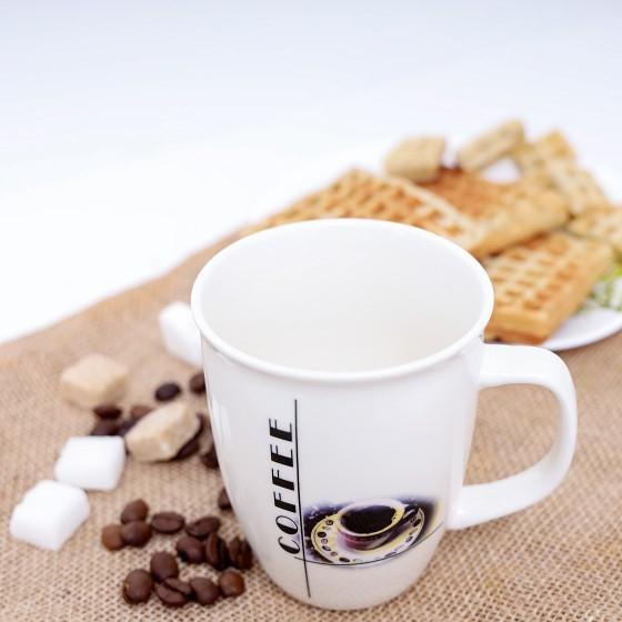 Ceramic Mug, 12 Oz