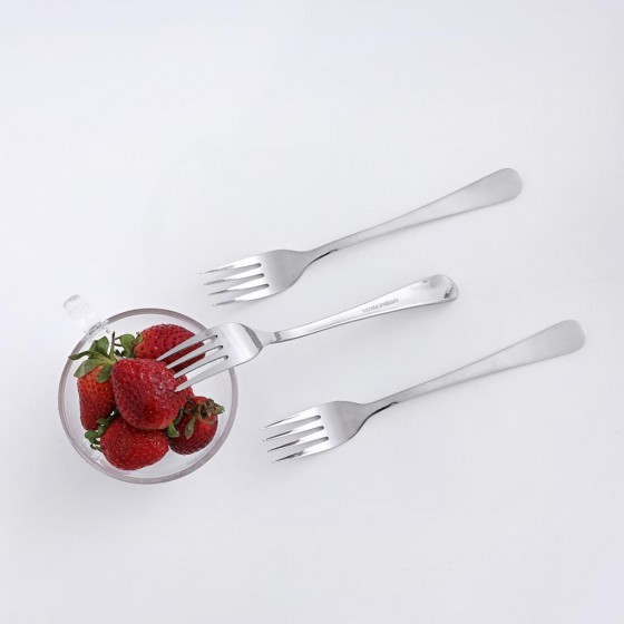 Royalford RF2394-TF Stainless Steel Table Fork Set, 3pieces