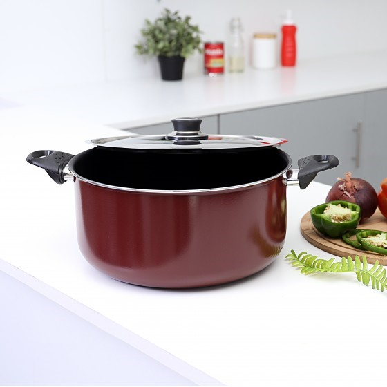 Non-Stick Cookware with Lid, 28 CM