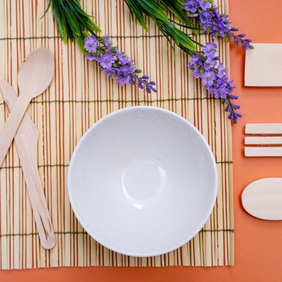 Melamine White Pearl Bowl, 5 Inch