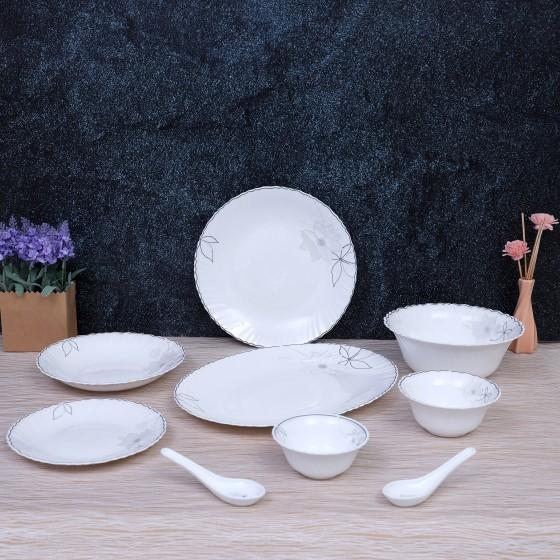 Opal Glassware Dinner Set, 40 Pcs