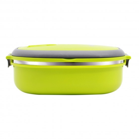 Royalford Lunch Box - Thermal Lunch Box Bento Lunch Box with Stainless Steel Thermal Insulation, Thick Layered of Food Containers Leak Proof for Kids, Adult | Suitable for School, Office or Picnic