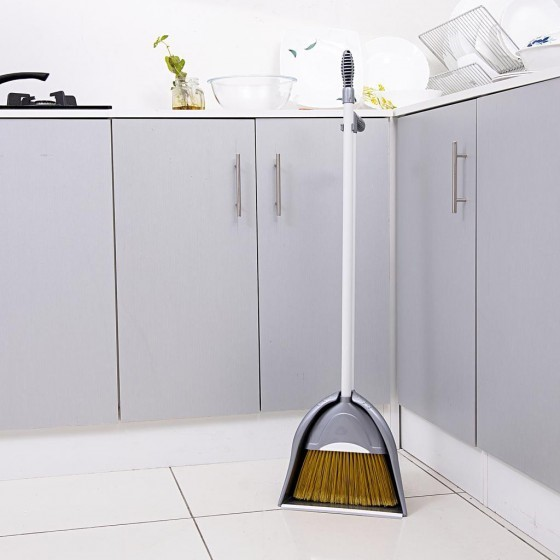 Royalford RF7140 Broom with Dustpan Set