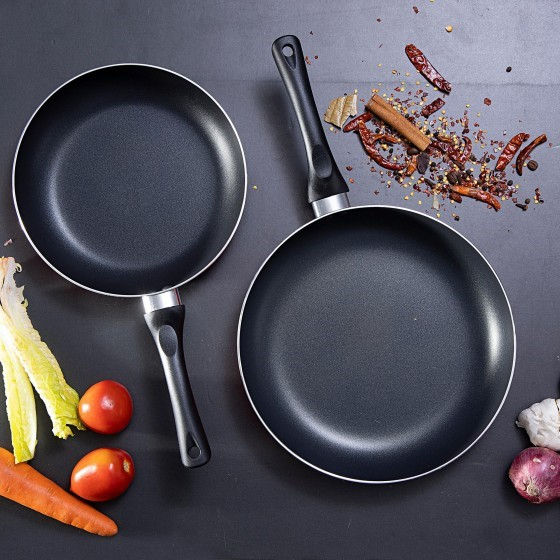 Royalford 2 Pcs Non-Stick Frying Pan Set
