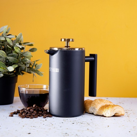 Royalford Cafetiere Stainless Steel Portable French Press Coffee Maker