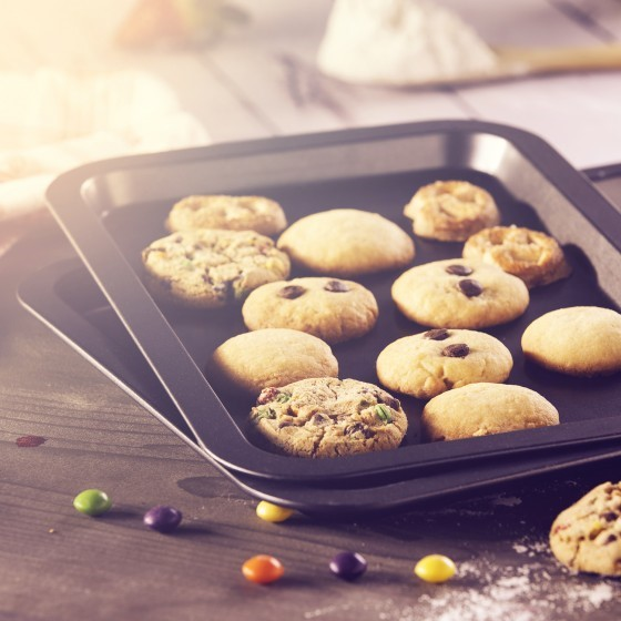 Royalford Non-Stick Baking Tray Cookie Set 3 Piece