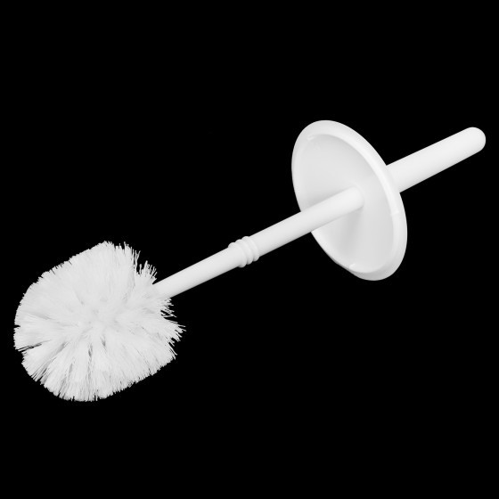 Royalford Closed Toilet Brush - with Hygiene Cap, Simple Design, Strong Grip Handle, Durable Material, Easy to Clean - for Nice, Clean Toilets
